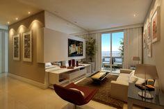 Construindo Minha Casa Clean: Consultoria de Decoração com 3D: Salas Pequenas em L