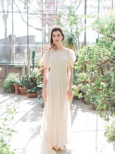 Gorgeous vintage wedding dresses from Gossamer http://www.shopgossamer.com/