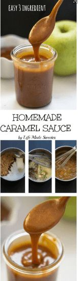 nice Easy Homemade Caramel Sauce
