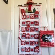 Pattern - Big Pocket Family Advent Calendar Pattern, PDF Pattern The Big Pocket Advent Calendar sewing pattern with pockets big enough to hold treats for the whole family by fabricandflowers Advent Calander, Fabric Advent Calendar, Christmas Calendar, Kids Calendar, Christmas Sewing, Christmas Crafts, Christmas Quilting, Christmas Tables, Modern Christmas