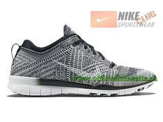 brand new b57ff 46118 Nike Free TR 5.0 Flyknit GS - Chaussure Nike Pas Cher Pour Femme Noir Gris  718785-001 · Nike Air MaxAir ...