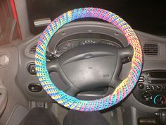 Crochet: Ravelry: Candy Cane Steering Wheel Cover pattern by Connie Haney