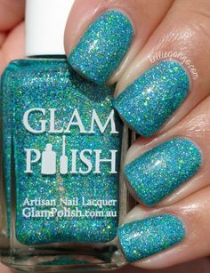 Glam Polish No Lei-Overs! Limited Edition Collection Swatches & Review