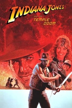 Indiana Jones and the Temple of Doom - Alternate Poster | Unknown Artist | If you know the artist, please message us.