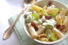 5 or less: Pastasalade met rozijnen en yoghurt