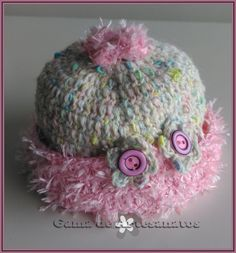 Chapeuzinho de crochet