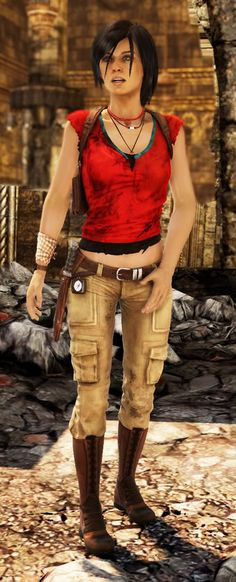 Chloe from Uncharted