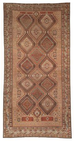 A Caucasian Shirvan Rug BB5070 - An antique Persian Shirvan Rug, Late 19th century...