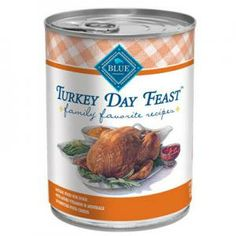 Grange Co-op: BLUE Dog Turkey Day Feast, Everyone's Favorite Meal 12.5 oz Can