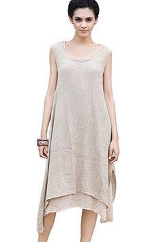 http://www.amazon.com/OUTLINE-Womens-Original-Layers-Sleeveless/dp/B00WVZOJDQ/ref=sr_1_819?s=apparel&ie=UTF8&qid=1457475080&sr=1-819-spons&nodeID=7147440011&keywords=linen+clothing+for+women&psc=1OUTLINE Original Two Layers Sleeveless Linen Dresses For Women Beige X-Large Outline