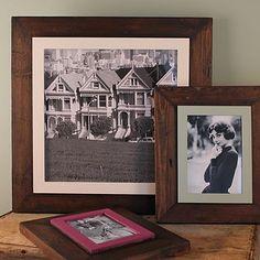 Custom Made Reclaimed Wooden Frame