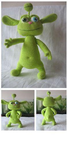 Amigurumi Green Puper Crochet