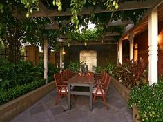 1000 images about decking and verandas on pinterest - Outdoor eating area designs ...