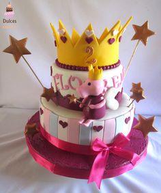 Torta Peppa Pig Torta Chanchita Peppa #TortaPeppaPig #TortasDecoradas #DulcesKaprichos