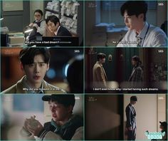 jae chang come looking for hong joo as he saw his brother in the dream taken by the police - While You Were Sleeping: Episode 3 & 4 korean drama review