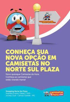 Inauguração : BOOOMMMM DIAAAA!!! Campo Grande/MS é HOJE (24/04 às 20hs) | camisetasdahora