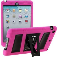 i-Blason ArmorBox Stand Series For Apple iPad Mini 7.9 Inch 2 Layer Convertible Hybrid Kids Friendly Protection Kick Stand Case (Multi Color) - Pink Margentta / Black by i-Blason, http://www.amazon.com/dp/B009PPK85S/ref=cm_sw_r_pi_dp_-ouOqb0RV5QT9