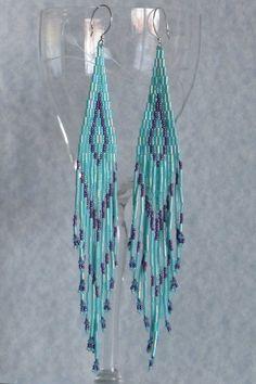 Love the super long beaded earrings :)