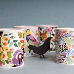 print & pattern blog features collier campbell - love these mug patterns