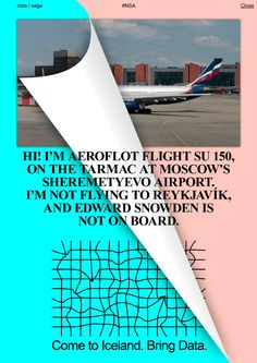 Metahaven Unbranding Iceland:HI! I'M AEROFLOT FLIGHT__and NPR on Nation Branding: Consultants Develop Notion of Branding Nations Published: January 11, 2006 by Eric Weiner http://m.npr.org/story/5149506