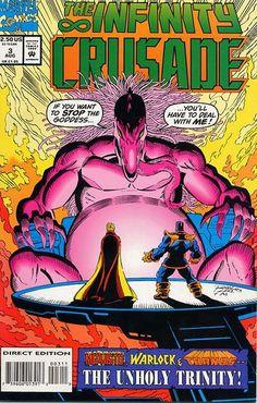 Infinity Crusade # 3 by Ron Lim & Al Milgrom