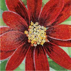Mosaic Tile Art | Flower mosaic. | Mosaic Tile Art