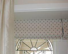Pretty Roman blinds