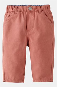 Mini Boden 'Baby' Chino Pants (Infant) available at #Nordstrom