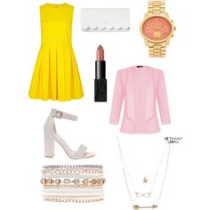 Brunch by nicole-gheller on Polyvore featuring polyvore, fashion, style, RED Valentino, Quiz, Kate Spade, Michael Kors, Lane Bryant and Aéropostale