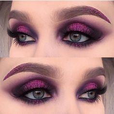 Sugarpill Cold Chemistry and Urban Decay Electric Palette Look by helenesjosted