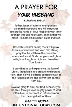 Prayer quotes:How often do you pray for your husband? For many wives, the answe is not often enough. Here are two keys to help you pray for your husband more often Prayer For My Marriage, Prayer For Family, Godly Marriage, Prayer For You, Faith Prayer, Marriage Relationship, Marriage Tips, Love And Marriage, Godly Wife
