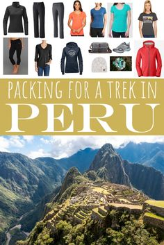 Packing for Adventure: What I Packed for Peru