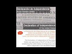 Declaración de Independencia en Inglés = Declaration of Independence in Spanish