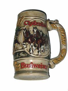 Budweiser Beer Steins | Budweiser Clydesdale Beer Stein
