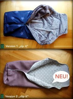 Free sewing instructions: footmuff for buggy / stroller / bicycle .- Gratis Nähanleitung: Fußsack für Buggy/Kinderwagen/Fahrradanhänger Here& the instructions: Version 1 (with zipper): www.lila-as-loving … Version 2 (with snaps): www.lila-as-loving … - Sewing For Kids, Baby Sewing, Diy For Kids, Sewing Patterns Free, Free Sewing, Knitting Patterns, Baby Kind, Sewing Projects For Beginners, Diy Baby