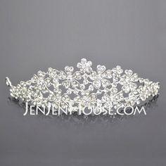 Gorgeous Clear Crystals Wedding Bridal Tiara  (042004249)
