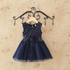 Aliexpress.com: Compre 2015 verão criança do bebé Lace lantejoulas roupa vestido para infantil Floral vestido de princesa vestidos de crianças para crianças roupas de confiança Vestidos fornecedores em Little Lisa