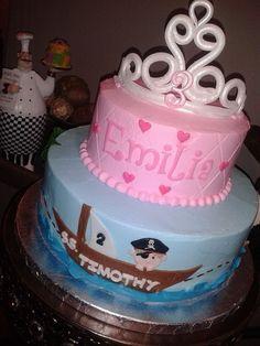 Princess / Pirate Cake