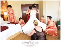 Amy Rizzuto Photography...I just love how she was right there with all of my girls!