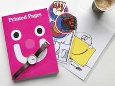 Printed Pages by It's Nice That   Image Courtesy of MANimalist