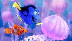 """I shall call him Squishy, and he shall be mine and he shall be my Squishy."" - Finding Nemo"