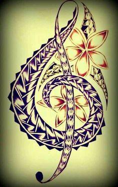 My new artwork for a tattoo ... via alfakasi tiene Samoa