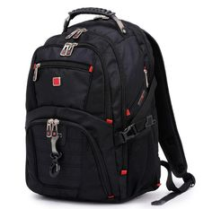 Looking for FUDIDD Swiss Gear Waterproof Travel Bag Laptop Backpack Computer Notebook School Bag ? Check out our picks for the FUDIDD Swiss Gear Waterproof Travel Bag Laptop Backpack Computer Notebook School Bag from the popular stores - all in one. Best Laptop Backpack, Waterproof Laptop Backpack, Men's Backpack, Laptop Bag, Leather Backpack, Swiss Gear Backpack, Travel Luggage, Travel Bags, Notebook School