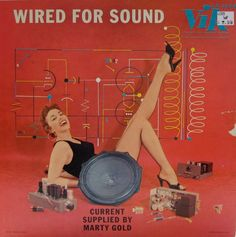 Wired for Sound — Marty Gold #vintage #vinyl #records