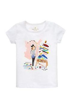 toddlers' caitlin tee by kate spade new york