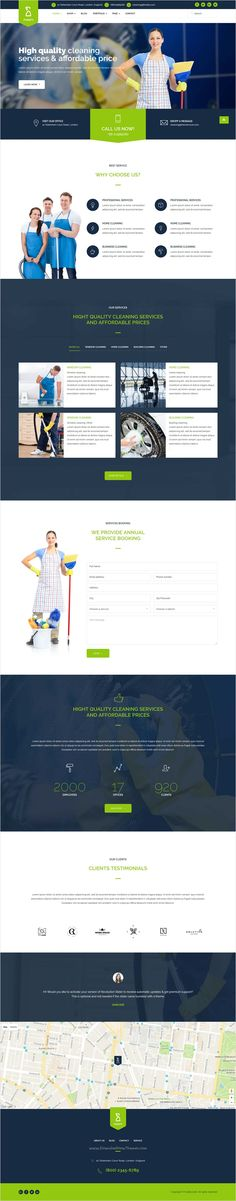 Purify is professional and modern design #Joomla #template for for suppliers of #cleaning services business website with 4 unique homepage layouts download now➩ https://themeforest.net/item/purify-cleaning-service-joomla-template/17337600?ref=Datasata