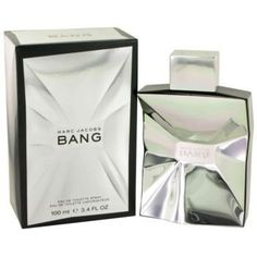 MARC JACOBS BANG by Marc Jacobs EDT SPRAY 3.4 OZ by MARC JACOBS. $51.29. **No U.S. Sale Tax** 3.4 oz EDT. New in Box. Bang by Marc Jacobs for Men. EDT SPRAY 3.4 OZ Design House: Marc Jacobs Year Introduced: 2010. Save 32% Off!