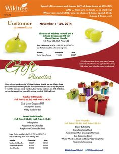 November 2014 Customer Promotion!