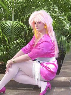 80s Jem Costume - Truly Outrageous! http://www.liketotally80s.com/2010/08/80s-costume-jem/