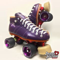 We ❤ these—dare we say—Bruised Boutique color custom @iskateriedell 495 Arius skates!  —How to get YOUR dream Riedell skates—  ✪ 1) Imagine your perfect boots at: http://www.roller.riedellskates.com/colorlab/  ✪ 2) Email us the PDF (info@bruisedboutique.com) or give us a call (603-821-1311) and we will talk you through plate and wheel choices and get you the best possible price  ✪ 3) Get ready for the skates you've always wanted!   #RollerDerby